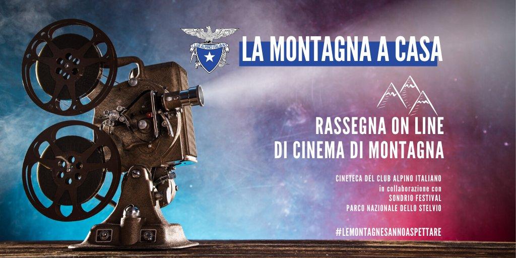 'La montagna a casa': rassegna on line dei film della Cineteca del Cai